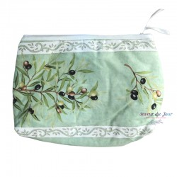 Provence Pouch - Olives Green - Large
