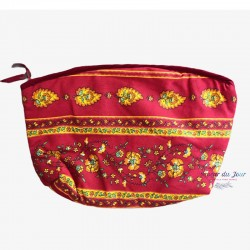 Provence Pouch - Palmette Red - Large