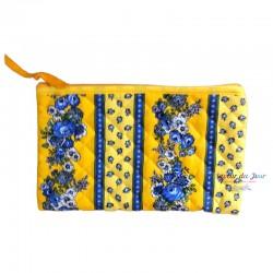 Provence Pouch - Fleurette Yellow - Medium