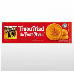Brittany Sables - 6 Palets Butter Cookies by Traou Mad  3.5oz