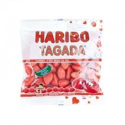 French Strawberry Tagada Candy - Haribo