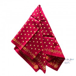 Scarf - Provence Red -...
