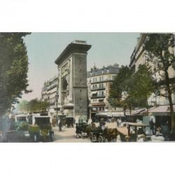 Antique Paris Souvenir Print - Saint Denis