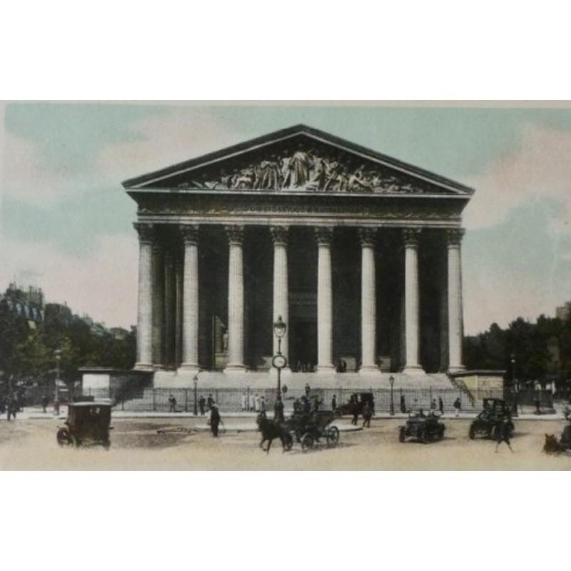 Antique Paris Souvenir Print - La Madeleine