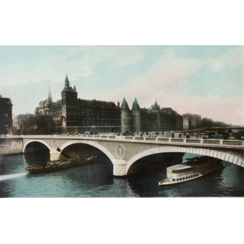 Antique Paris Souvenir Print - Conciergerie