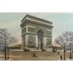 Antique Paris Souvenir...