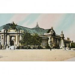 Antique Paris Souvenir Print - Grand Palais