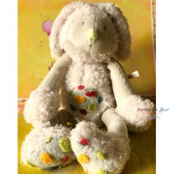 Plush Bunny Toy - Moulin Roty