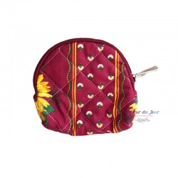 Provence Pouch - Sunflower Red - Small