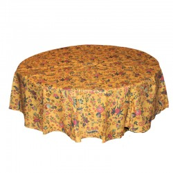 French Coated Tablecloth -...