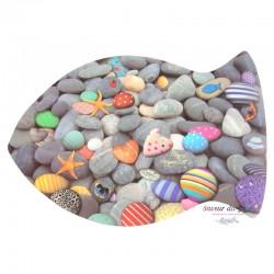 Fish & Sea Pebbles Placemat...