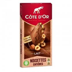 Cote d'Or Milk Chocolate w/ Whole Hazelnut