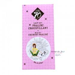 Milk Chocolate 45% Crunchy Praline - Michel Cluizel