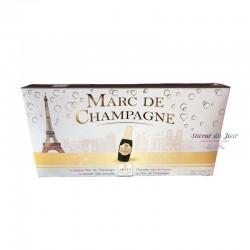 Dark Chocolate & Marc de Champagne Mini Bottles - Abtey