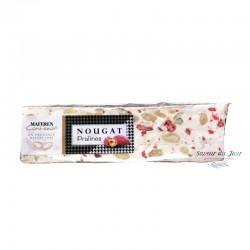 Soft Nougat Bar with Pink Pralines - Maffren Canteperdrix