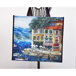 French Tote Bag - French Riviera<br>