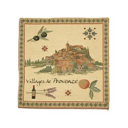 Tapestry Pillow Cover - Provence Village<br>