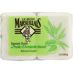 Le Petit Marseillais Sweet Almond Soap - Pack of 2