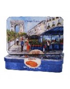Paris Tins Online - Caramel Candy, French Cookie Tins from France