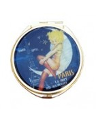 Paris Gifts for Her Online. Paris Pocket Mirrors, Jewels from France