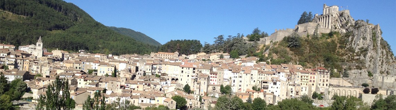 Sisteron in Haute Provence